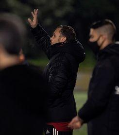 """Sergio: """"Tenemos una bonita oportunidad de ganar a un potente rival"""""""