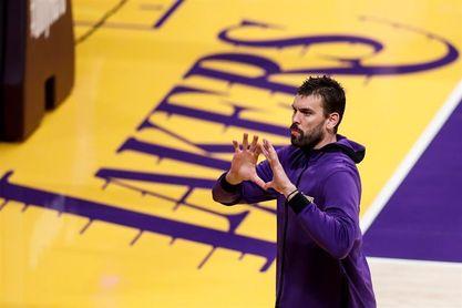 Marc Gasol, cada vez más cerca de volver con los Lakers tras el coronavirus