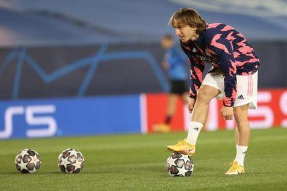 Modric, elegido mejor jugador de la semana en 'Champions'