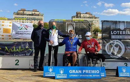 Javier Reja, campeón de España en casa
