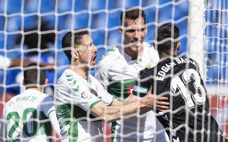 Getafe 1-1 Elche: El 'Geta' se topa con Edgar Badía