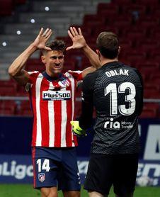"""Oblak: """"A veces paras muchos penaltis, últimamente no paraba ninguno"""""""
