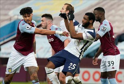 El Tottenham olvida la Liga Europa con una victoria ante el Aston Villa