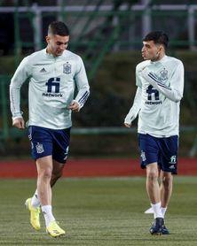 """Ferrán Torres: """"Pedri va a rendir al nivel de la selección"""""""