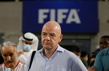 """Infantino destaca la """"transparencia"""" como compromiso clave de la FIFA"""