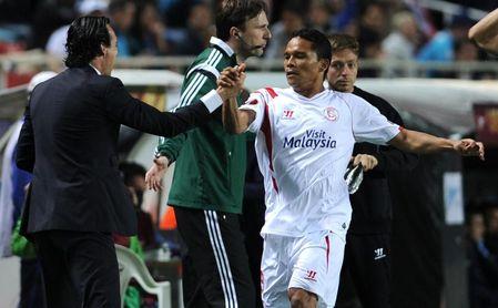Bacca pone al Sevilla de Emery como ejemplo a seguir por el Villarreal