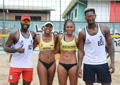 Ecuador, a torneos en Chile para la clasificación al Mundial de Voleibol Playa