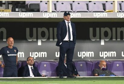 Iachini sustituye a Prandelli como técnico del Fiorentina