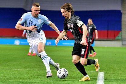 Modric batirá este sábado el récord de internacionalidades con Croacia.