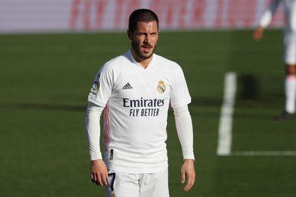 """Roberto Martínez: """"Hazard está desesperado por volver a jugar""""."""