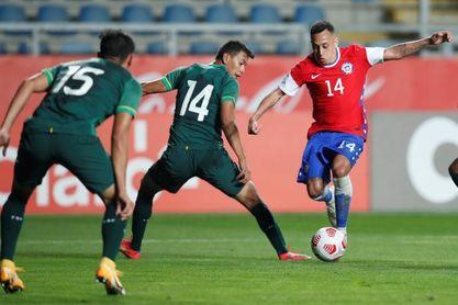 2-1. Chile vence por 2-1 a Bolivia en el inicio de la era Lasarte