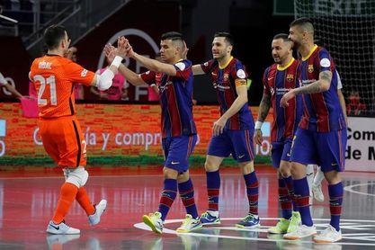 3-3. Miquel Feixas y el último penalti clasifican al Barça