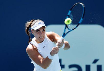 Konjuh elimina a la campeona de Roland Garros