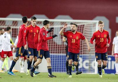 1-2. Dani Olmo rescata a España en la prolongación