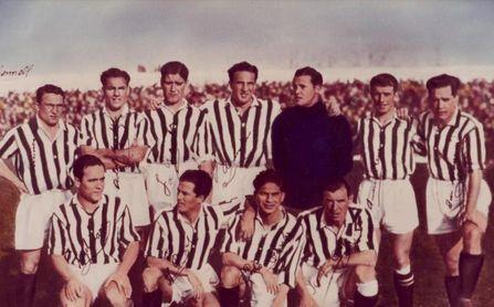 El Betis campeón de Liga en 1935.