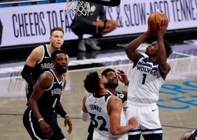112-107: Timberwolves se lo ponen difícil a unos Nets con un Harden inmenso