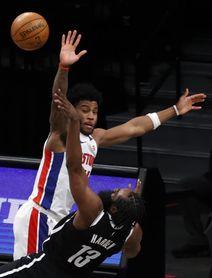 118-104. Los novatos de Pistons también pueden con los Raptors