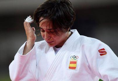 """Figueroa celebra su """"ventaja"""" en la carrera olímpica que le da el bronce en Tiflis"""