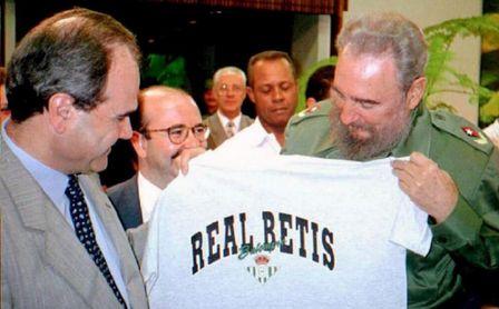 El día que Fidel Castro se hizo del Betis.