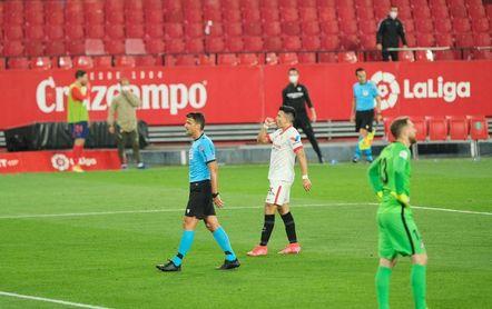 Acuña, feliz por un gol con una dedicatoria muy especial
