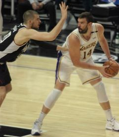 Marc Gasol: mi rol en los Lakers es ayudar, aportar y estar listo