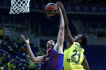 Nikola Mirotic, del Barcelona, mejor jugador del mes de marzo.