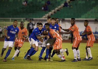 0-0. El Arcahaie haitiano le saca un empate a Cruz Azul, en el duelo de ida