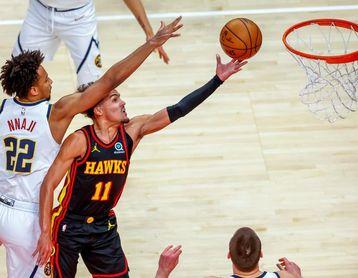 Hawks y Grizzlies, al club de ganadores; Curry, George, Embiid dan los puntos