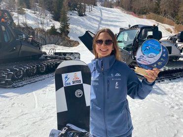 Irati Idiakez, fabricando sueños con el snowboard