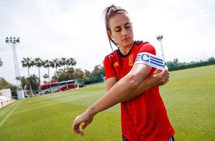 Alexia Putellas pasa a formar parte de la terna de capitanas