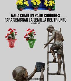 El maravilloso cartel del Antoniano para el partido ante el Córdoba B