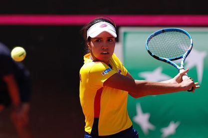 La colombiana Osorio se instala en cuartos de final del Torneo WTA de Bogotá