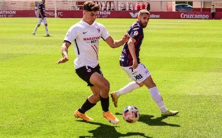 La nueva misión cumplida de Isaac, el 'espía' del gol del Sevilla Atlético
