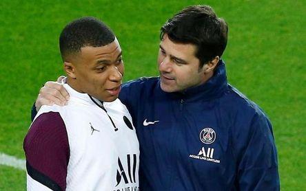 """Pochettino: """"Mbappé y el club trabajan para que esté aquí mucho tiempo"""""""