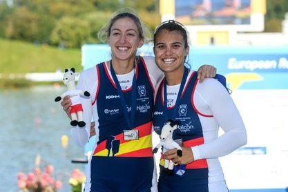 Aina Cid y Virginia Díaz, bronce en dos sin timonel