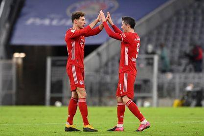 Goretzka viaja con el Bayern a París pese a venir de una lesión muscular
