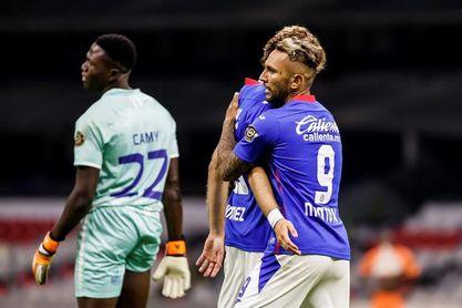 8-0. Cruz Azul golea a Arcahie y pasa a los cuartos de final de la Liga de campeones de la Concacaf