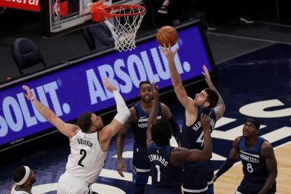 97-127. Los Brooklyn Nets dejan en ridículo a unos Timberwolves sin defensa