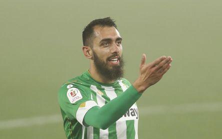 Borja Iglesias se apunta para el domingo