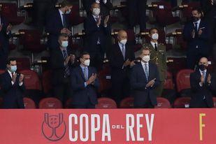 Pedro Sánchez felicita al Barça por su victoria en la Copa del Rey