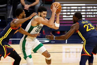 119-114.Tatum pierde el duelo encestador con Curry, pero los Celtics vencen a los Warriors