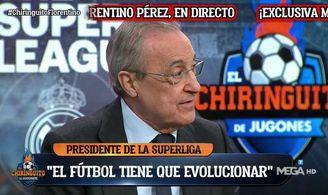 Florentino Pérez: ´¿El Sevilla? Podría venir perfectamente sí...´