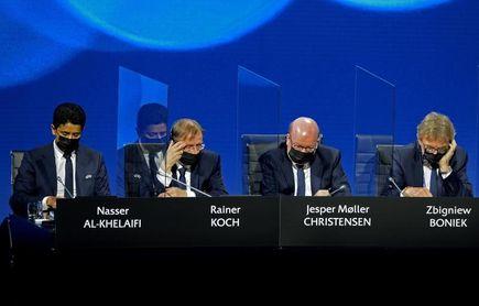 Al-Khelaïfi: Todo torneo sin apoyo de la UEFA esconde intereses personales