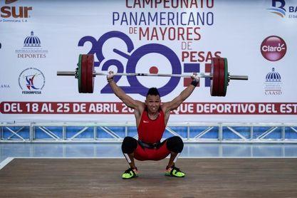 Colombia, EE.UU. y Venezuela dominan segunda fecha del panamericano de pesas