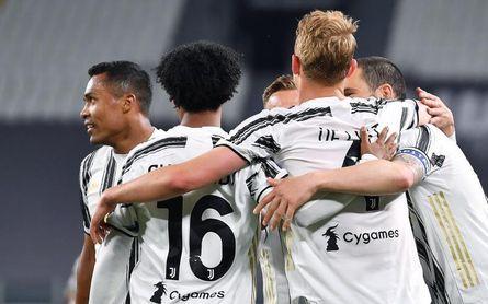 Álex Sandro y De Ligt hacen de Cristiano y salvan al Juventus
