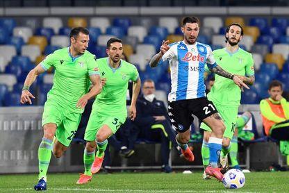 El Nápoles aplasta al Lazio al ritmo de Insigne, Politano y Mertens (5-2)