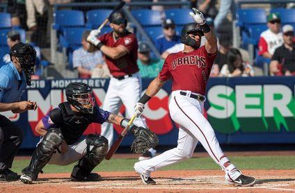 14-11. El venezolano David Peralta lidera la barrida de los Diamondbacks a los Rojos