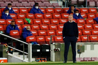 """Ronald Koeman: """"En un partido como hoy no hay que tener problemas al final"""""""