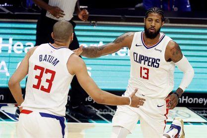 104-109. Ante los Rockets, George lidera la remontada y un nuevo triunfo de los Clippers