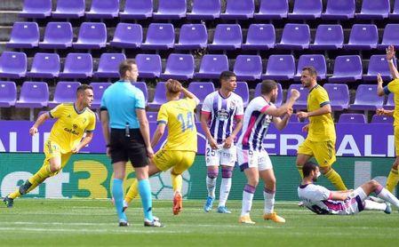 Valladolid 1-1 Cádiz: Cala rescata un punto.
